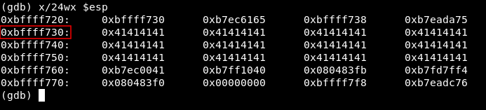 Buffer Overflow Examples, Code execution by shellcode