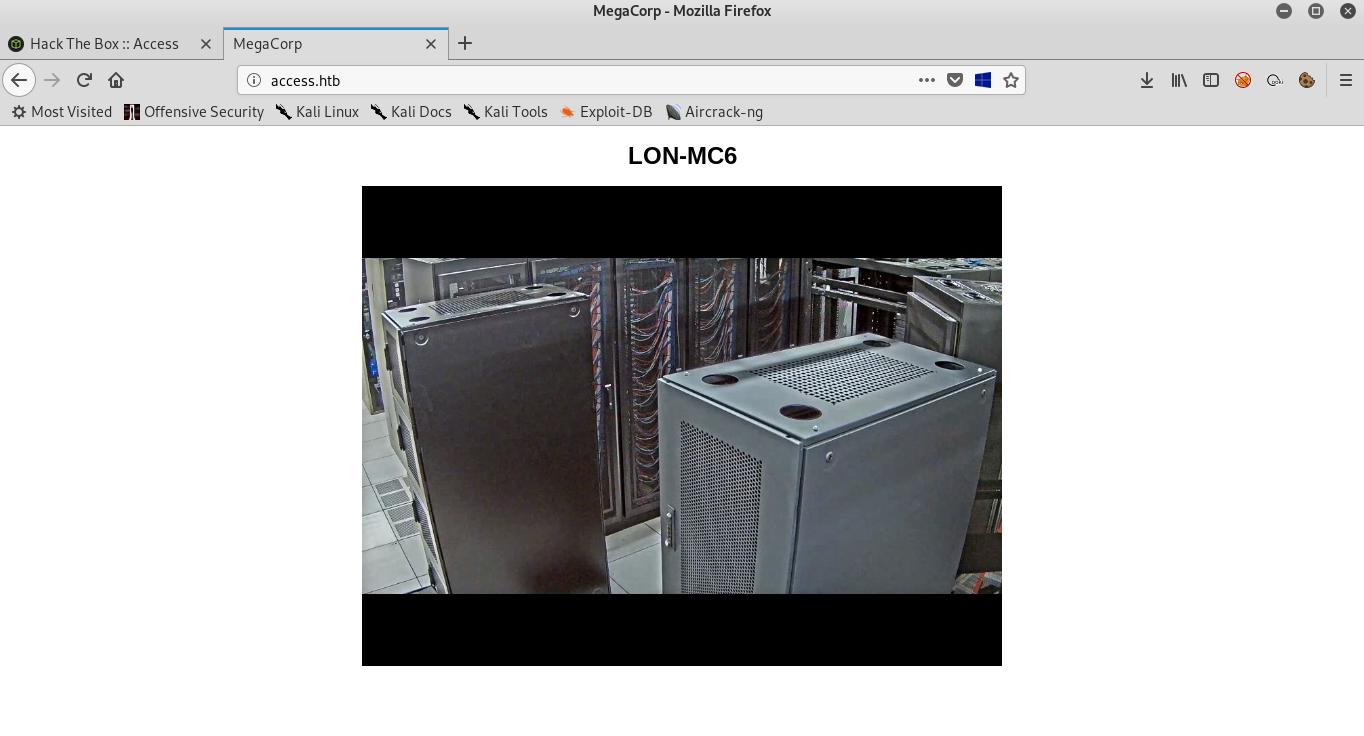 Hack The Box - Access | 0xRick