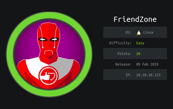 Hack The Box - Friendzone | 0xRick