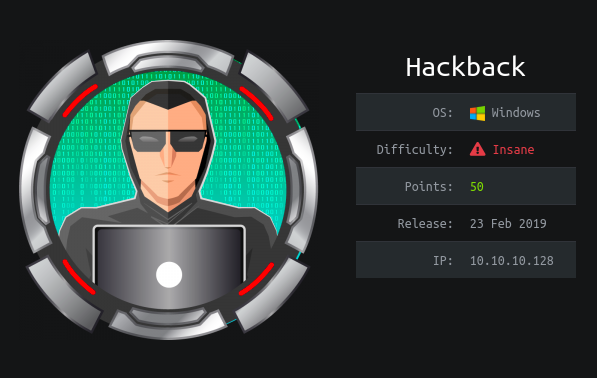 Hack The Box - Hackback | 0xRick Owned Root !