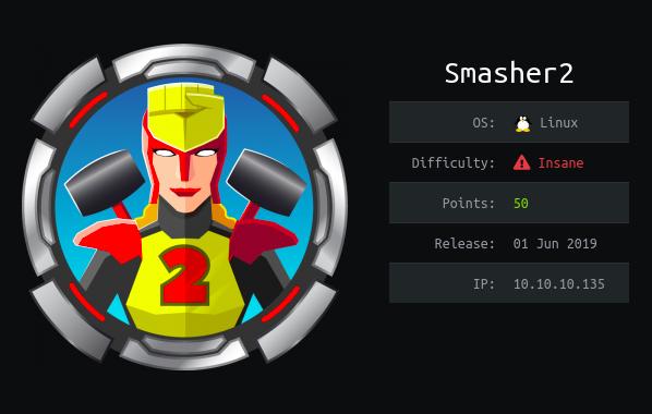 Hack The Box Smasher2 0xrick